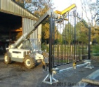 Pre-Wired Gate ready for delivery to site